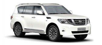 Lease a Nissan Patrol 4.0L SE Platinum 2018