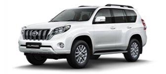 Lease a Toyota Prado 4.0L GXR 2018
