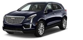 Lease a Cadillac XT5 3.6L Platinum Sedan 2017