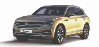 Lease a Volkswagen New Touareg 3.0L ComfortLine 2018