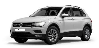Lease a Volkswagen Tiguan 1.4L S  2020