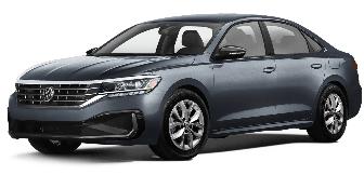 Lease a VW Passat 2.5L S (TrendLine) 2020