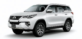 Lease a Toyota Fortuner 4.0L GXR  2017