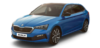 Lease a Skoda Scala  Ambition 1.6L MPI H/B 2021