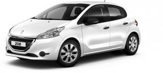 Lease a Peugeot 208 Access 1.6L 2016