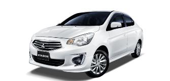 Lease a Mitsubishi Attrage 1.2L GLX (E02) W/Cruise Ctrl Sedan 2020