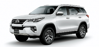 Lease a Toyota Fortuner 2.7L EXR  2018/2019