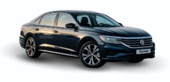 Lease a VW Passat 2.5L SEL 2020